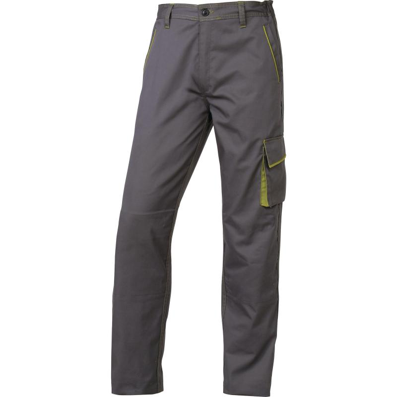 Работен панталон M6PAN, сиво-зелено