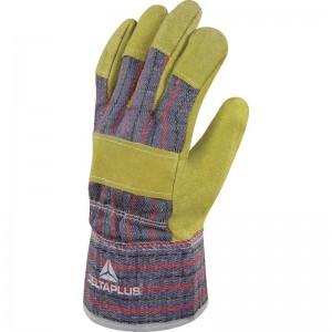 Ръкавици от кожа и плат DC103