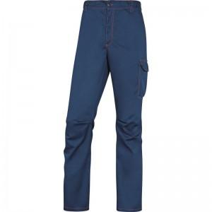 Работен панталон PANOSTRPA , морско синьо-оранжево