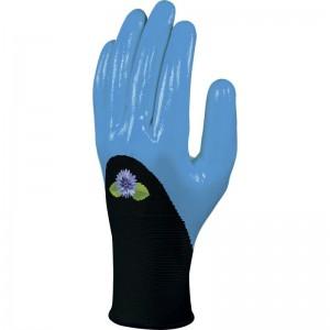 Плетени ръкавици DPVE715 , черно-сини