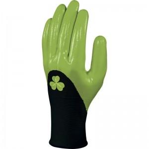 Плетени ръкавици DPVE715 , черно-зелени