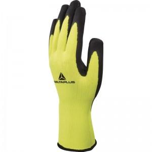 Ръкавици топени в латекс APOLLON VV733 , жълто-черни