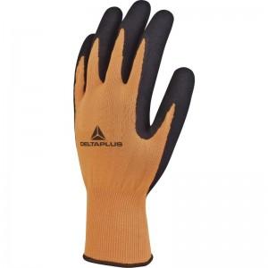 Ръкавици топени в латекс APOLLON VV733 , оранжево-черни