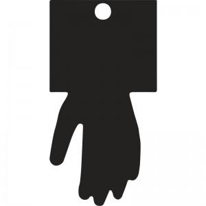 Ръкавици топени в латекс PVC7327