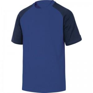 Памучна тениска GENOA , кралско синьо-тъмно синьо