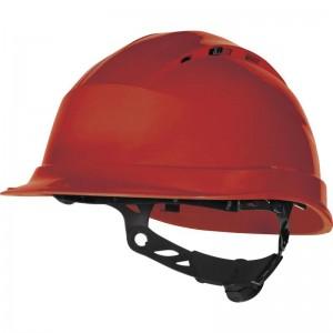 Защитна каска QUARTZ UP IV , червена