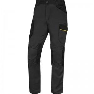 Работен панталон M2PA3 , сиво-жълт