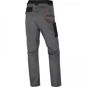 Работен панталон M2PA3 , сиво-оранжев