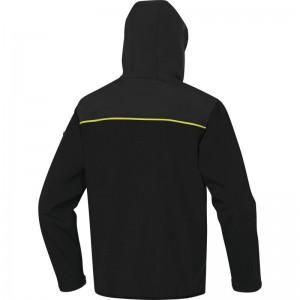 Софтшел яке HORTEN2, черно-жълто