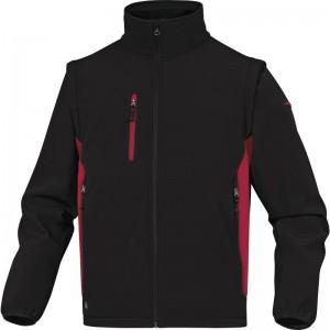 Софтшел яке MYSEN2, черно-червено