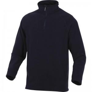 Поларена блуза ALMA , черна