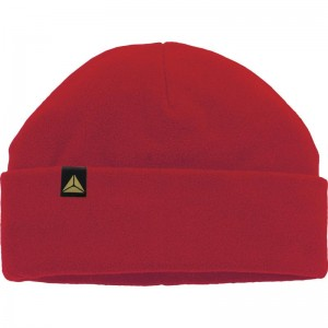 Поларена шапка KARA , червена