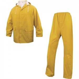 Водозащитен костюм 304 , жълт