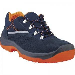 Работни обувки RIMINI4 S1P SRC, тъмносиньо-оранжево