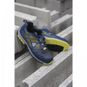 Работни обувки DELTA SPORT S1P HRO SRC, синьо-жълто
