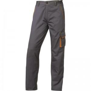 Работен панталон M6PAN, сиво-оранжево